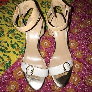 Women's high heeled sandals